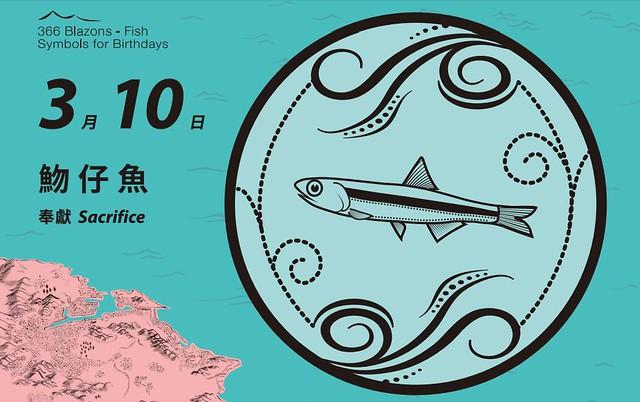 基隆市長林右昌生日魚為魩仔魚。圖片來源:基隆市政府文化局