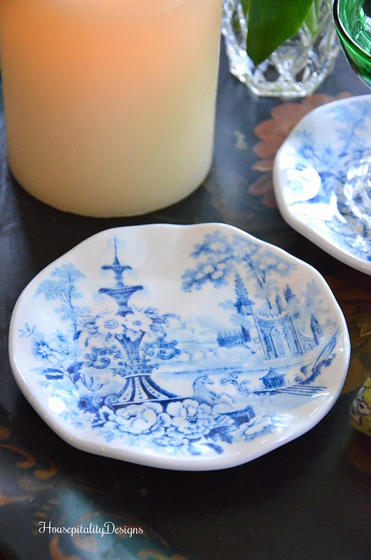 Setting the Table-Blue and White-Melamine-Housepitality Designs