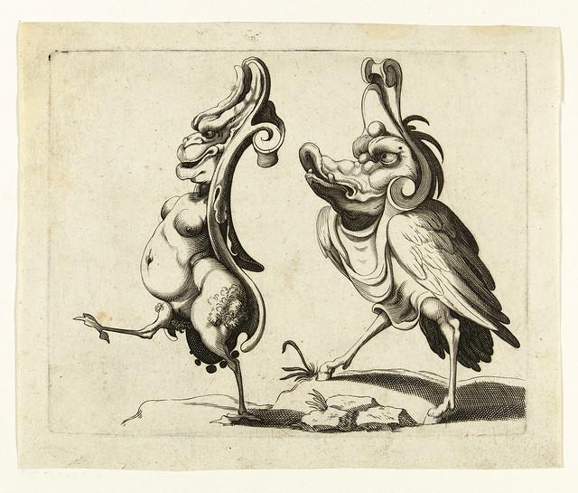 010- Dibujos grotescos - Arent van Bolten- Rijksmuseum