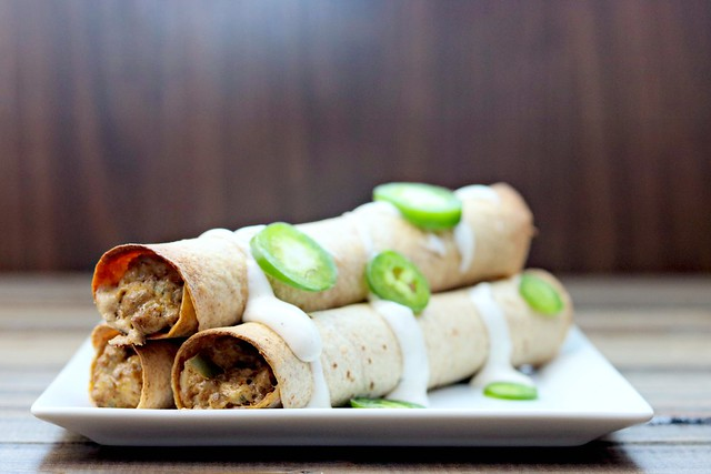 beef jalapeno popper taquitos front