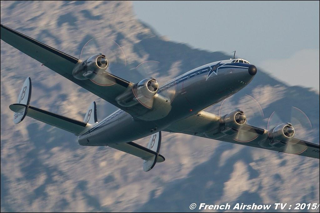 Lockheed L-1049F Super Constellation, Breitling Super Constellation Flyers ,HB-RSC, Sankt Wolfgang / St Wolfgang : Austria , scalaria air challenge 2015, Meeting Aerien 2015