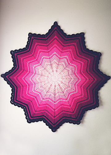 Crochet: Study in Pink, full | by Lisa | goodknits