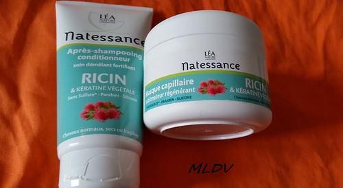 gamme Ricin & Kératine de NATESSANCE