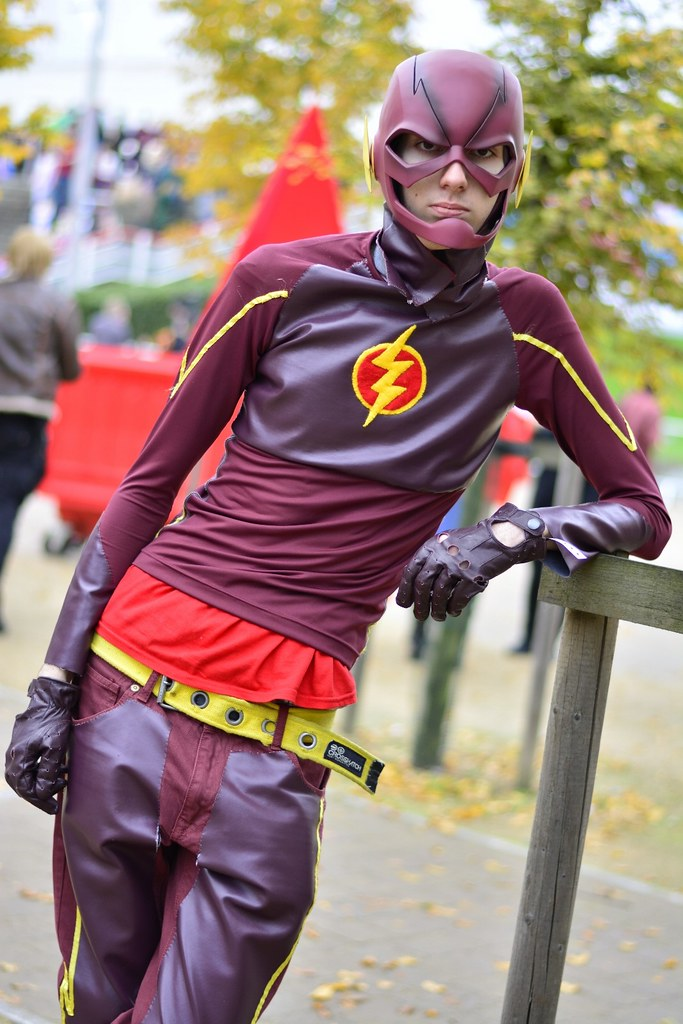 ... kriskproductions Red Robin cosplay - Flash | by kriskproductions  sc 1 st  Flickr & Red Robin cosplay - Flash | kriskproductions 2015 | Flickr