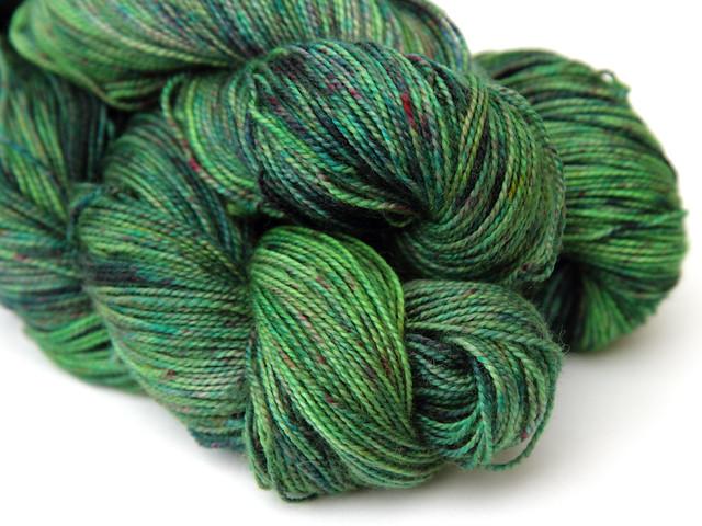 Favourite Sock – hand-dyed superwash merino 4 ply yarn 'Deep Sea Dweller'