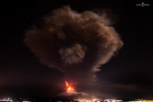 Etna Eruption | by Luca La Manna
