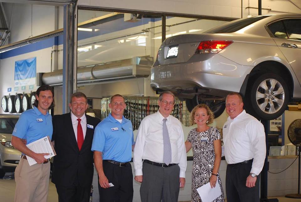 New Car Dealer Liza Borches Recently Hosted Congressman Bob Goodlatte (R Va.