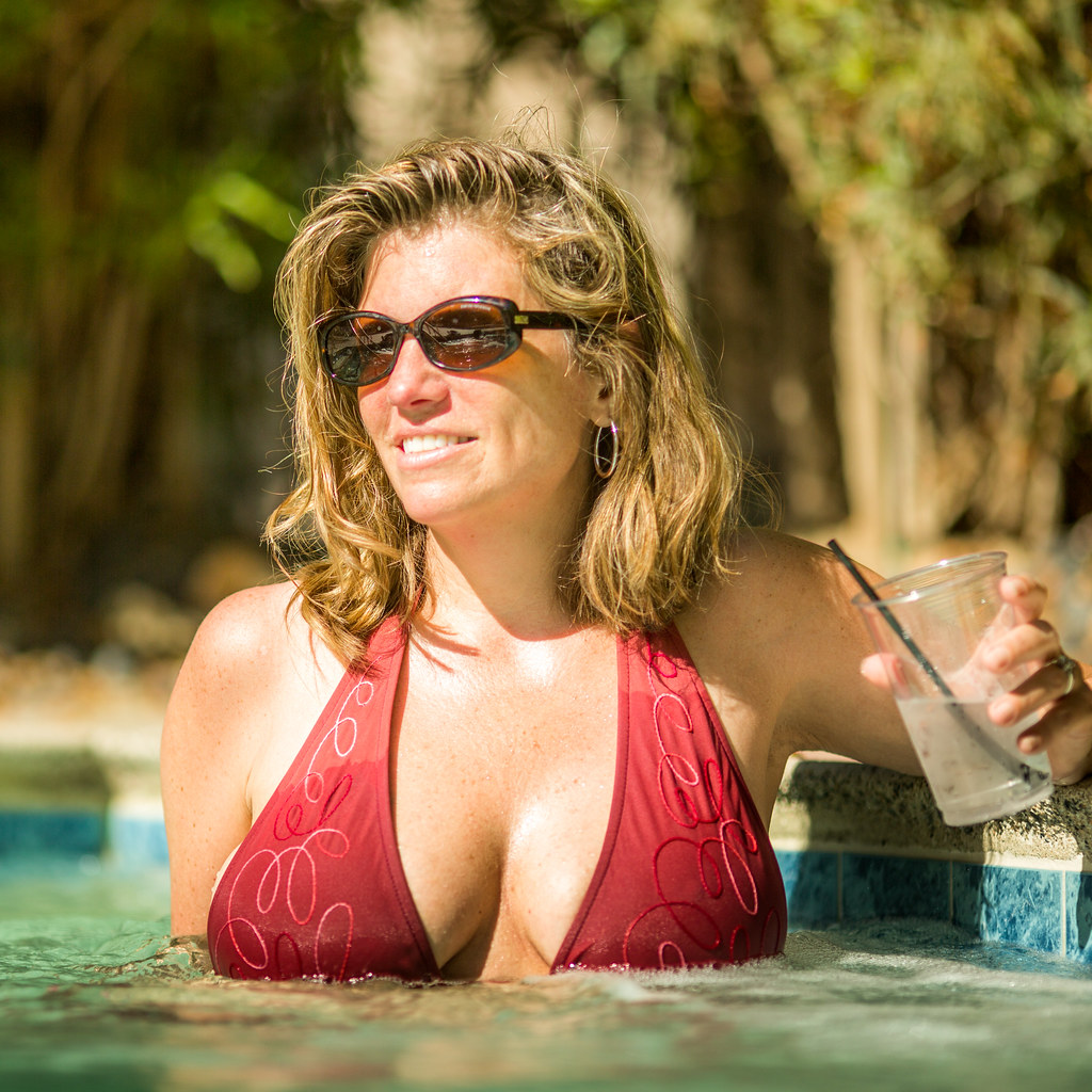 Wife In The Hot Tub
