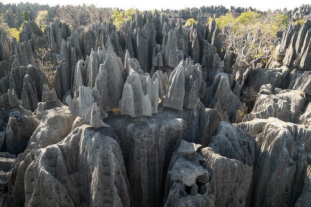 Tsingy Rock Formations