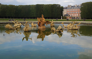 164 Kasteel van Versailles tuinen