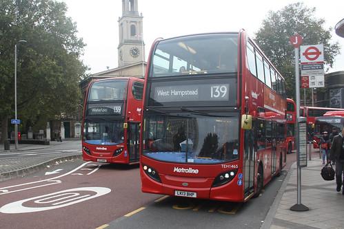 Metroline TEH1465 LK13BHP