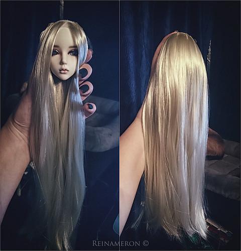 Calanthe, wig making