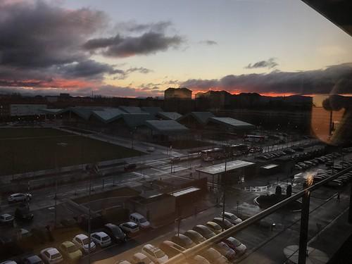 Amanecer en Lakua, desde mi ventana