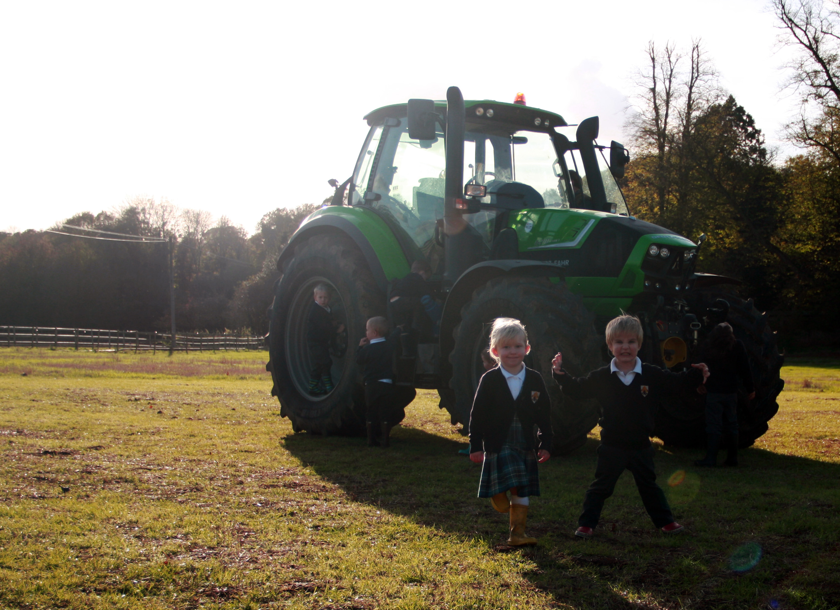 Pre-School Tractor Visit