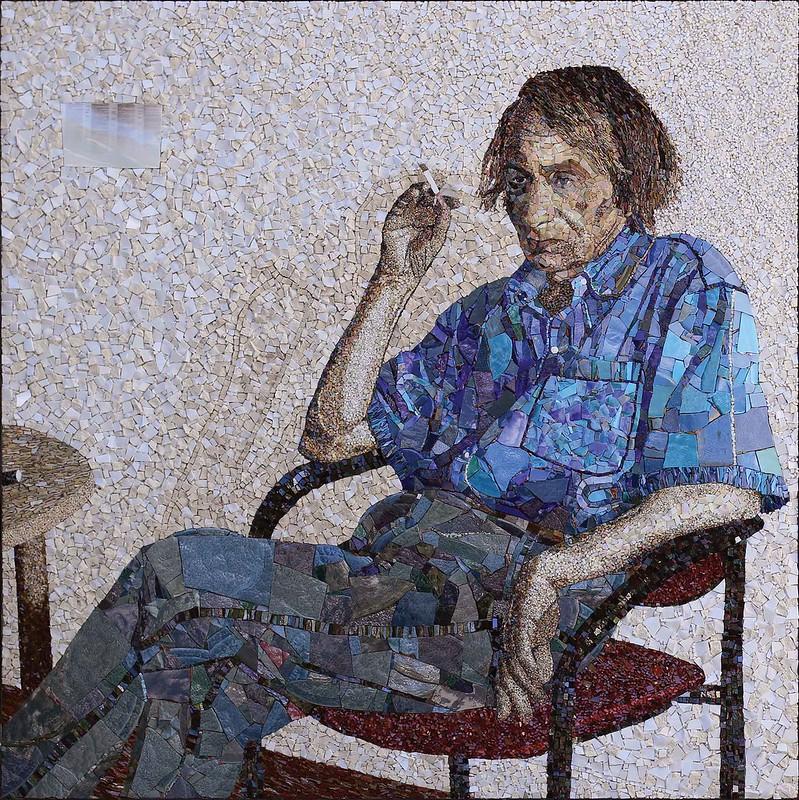 Mosaïque de Michel Houellebecq