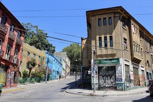 Calle Cumming, Valparaíso