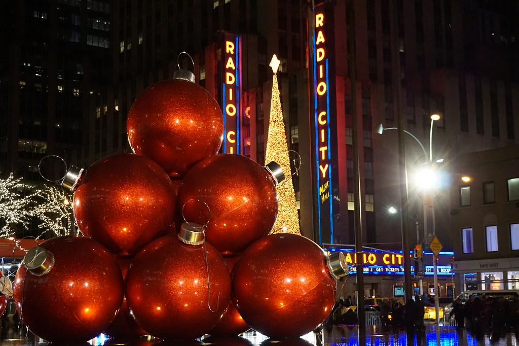Manhattan at Christmas
