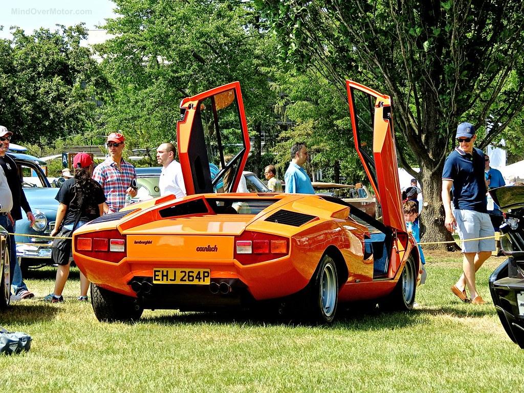 Lamborghini Countach Greenwich 5