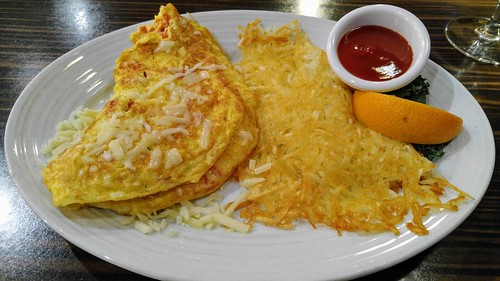 Northwest Omelette at Juno Restaurant at the Arctic Club Seattle