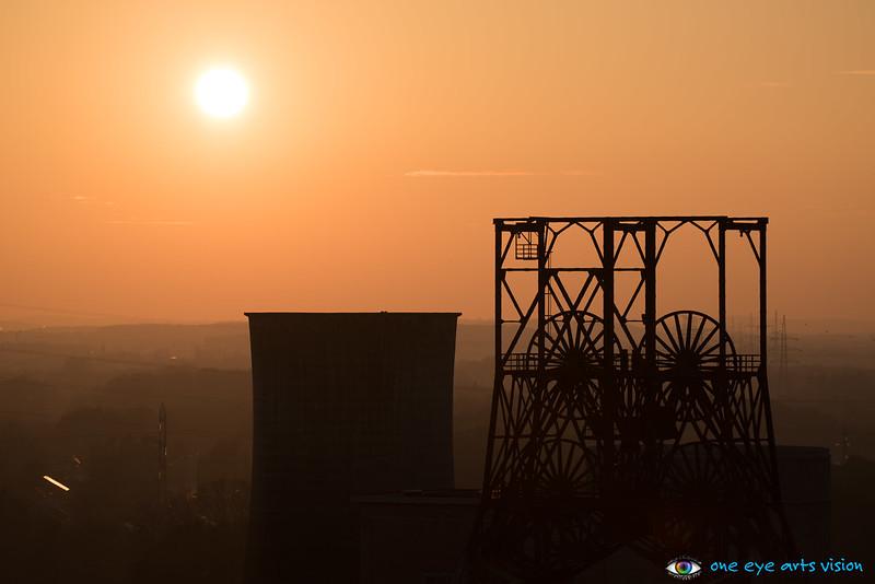 BeMine sunset