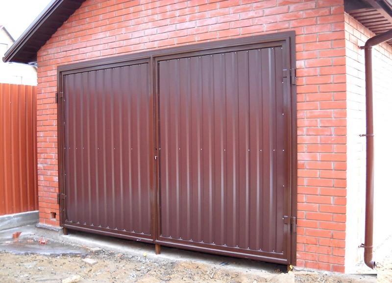 Ворота гаражные в Перми