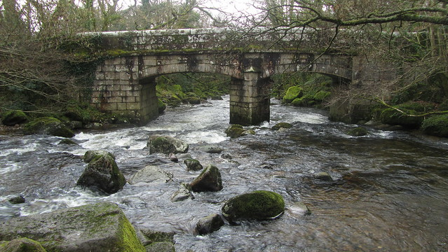 Shaugh Bridge. Where Plym meets Meavy