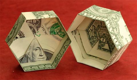Как сделать оригами шкатулку