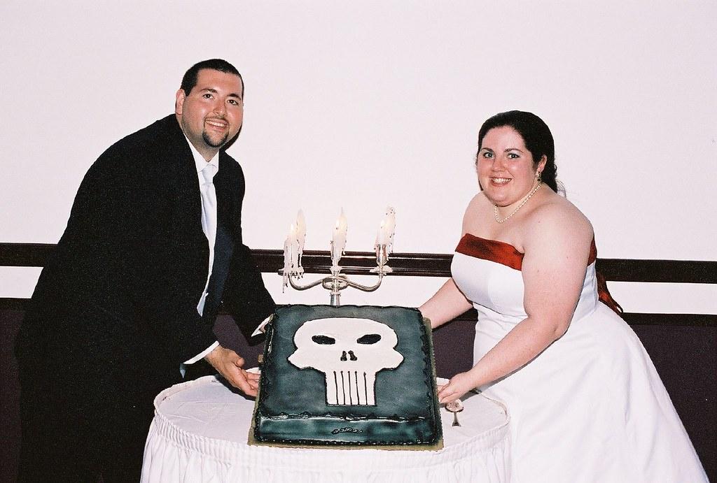 Punisher Cake Pan