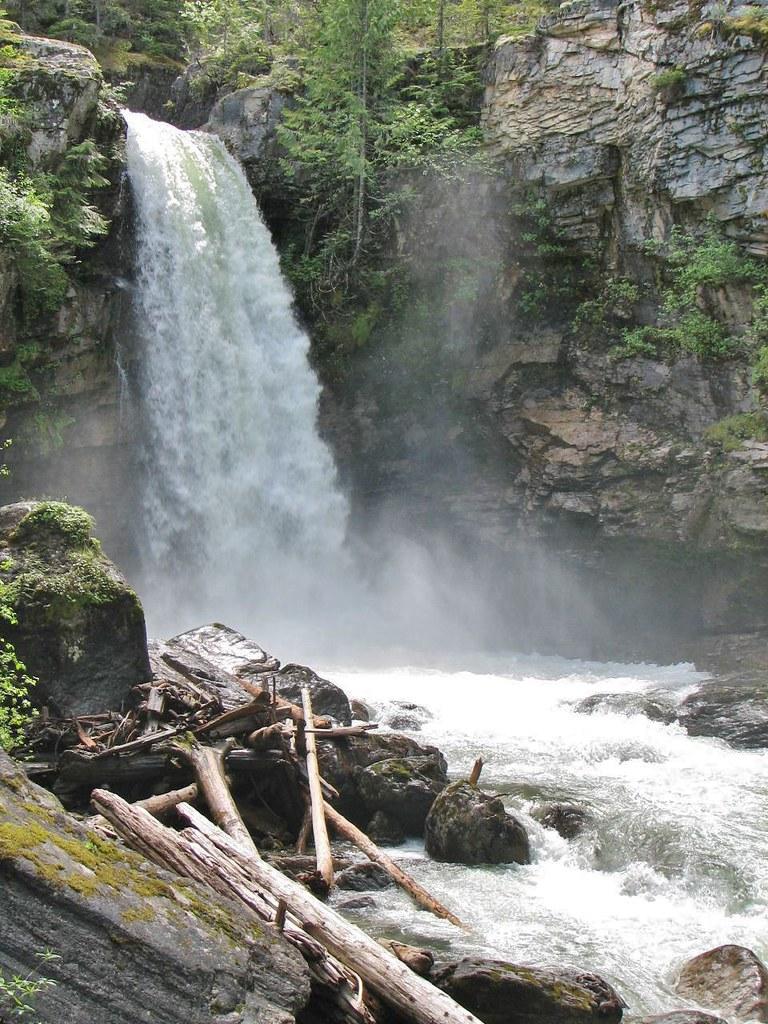 Blanket Creek Provincial Park, Sutherland Falls, BC | Flickr