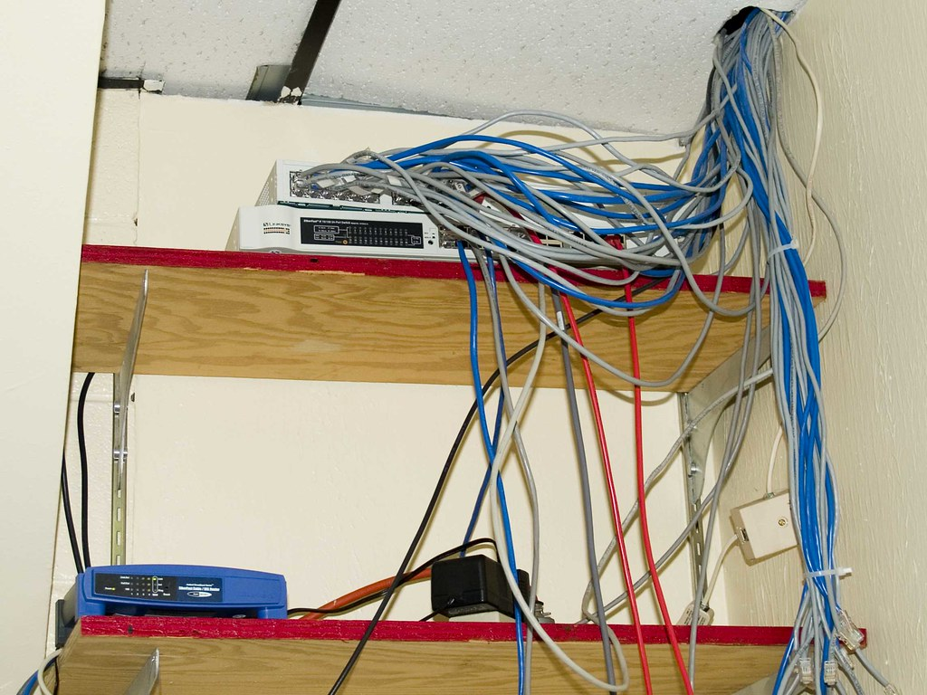 Nest Wiring Closet Trusted Diagrams Network Diagram Rat The That Is In My Offi Flickr Rh