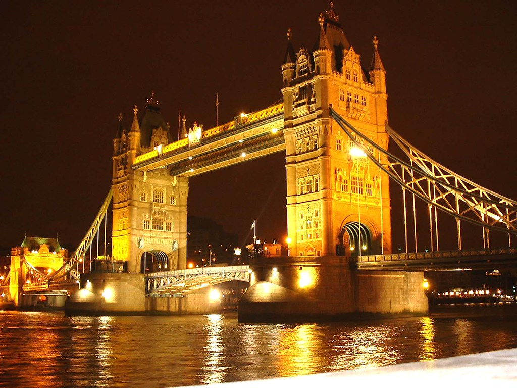 bridge gb night london - photo #24