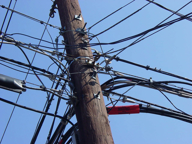 Utility pole  | One of the things I always enjoy seeing when… | Flickr