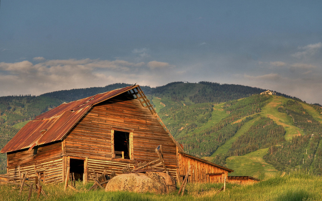 Barn In Steamboat Springs Colorado Eric Luck Flickr