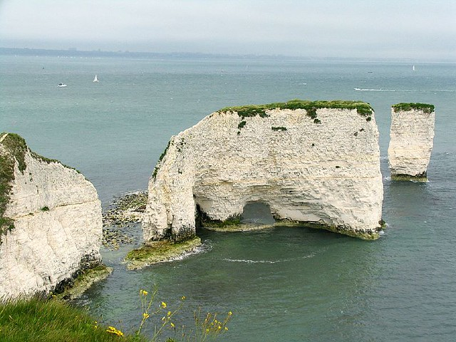 Jurassic Coast Swanage Bay Old Harry Rocks For Some