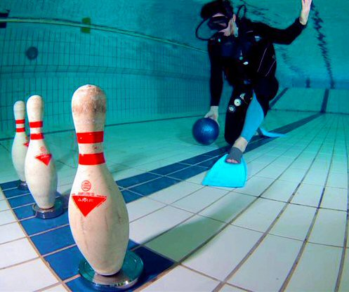 Swimming and bowling