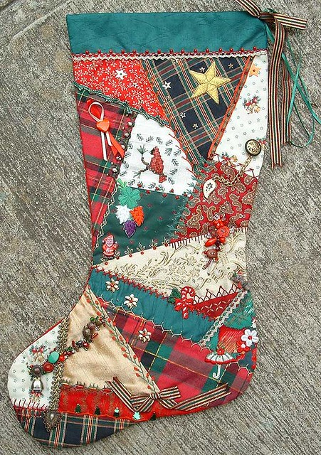 Christmas Stocking Some Details Of This Stocking Can Be