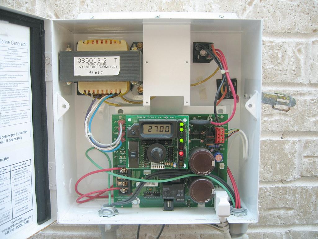 Goldline Aqua Rite Salt System Chlorine Generator Bill