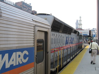 MARC Train Waiting | by skew-t