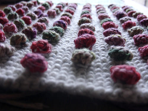 Scarf bobbles - detail | by poppalina