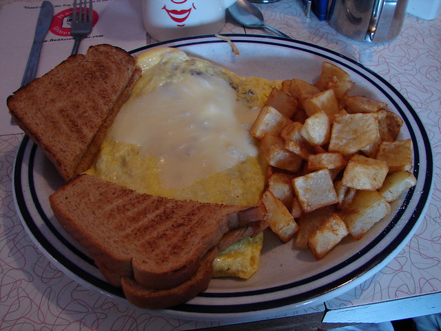 My Last NH Breakfast | Hash and cheese OMELET! | By: Helga ...