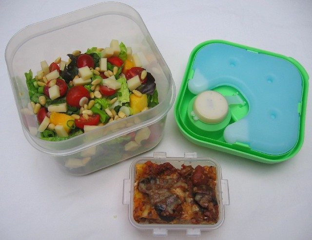 Fit Amp Fresh Salad Container Lunch Exploded Trying Out