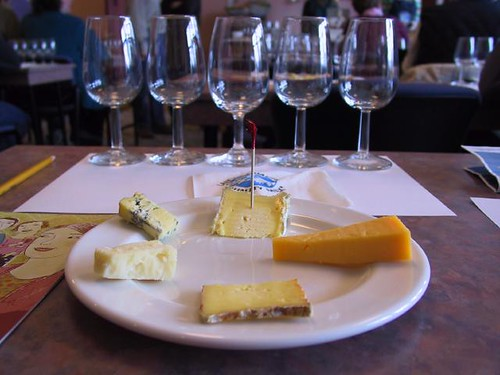 Wine and cheese tasting @ Strewn Winery | by Vincent Ma