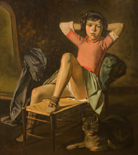 Balthus: Girl with Cat | by unbearable lightness