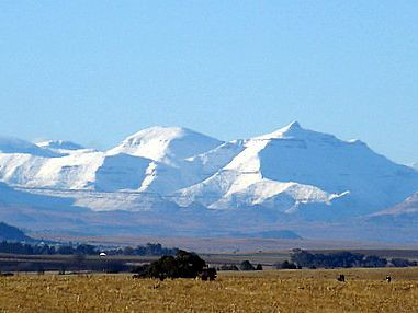 Drakensberg Snow View 3 Looks Like The Alps But They