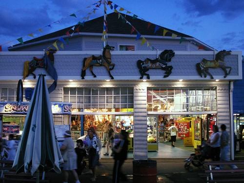 Carousel House Keansburg Amusement Park And Boardwalk