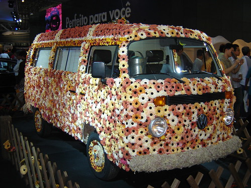 "Kombi ""Flower Power"" 