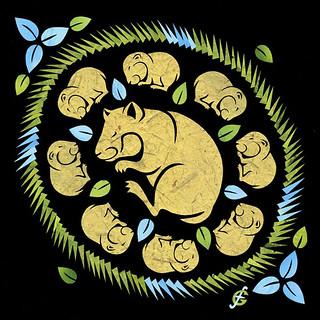 Sleeping Hamsters (2) / Спящие хомяки (2)