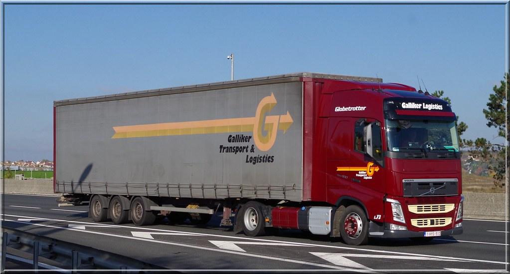 Volvo New Fh460 Globetrotter Galliker Transport Amp Logisti