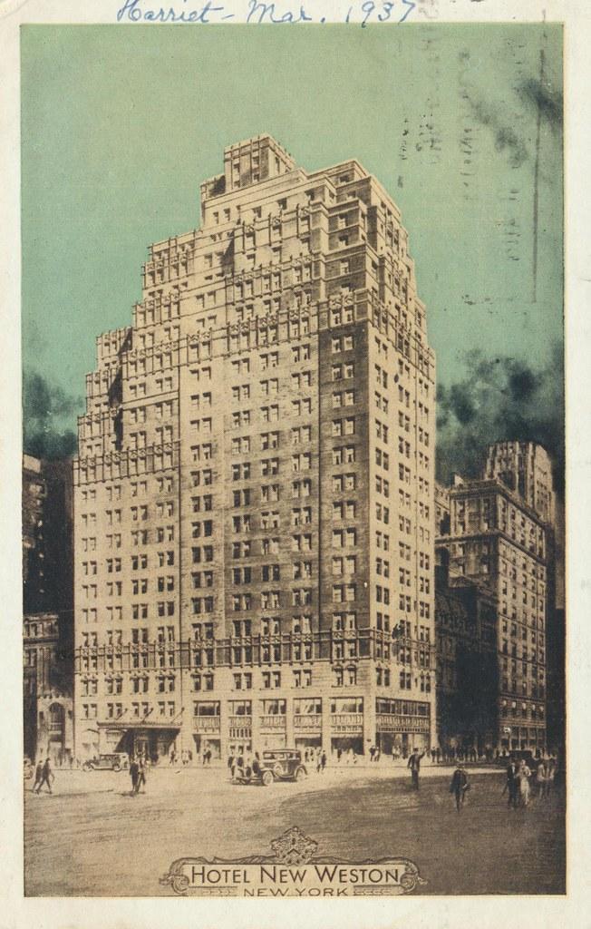 Hotel New Weston - New York, New York