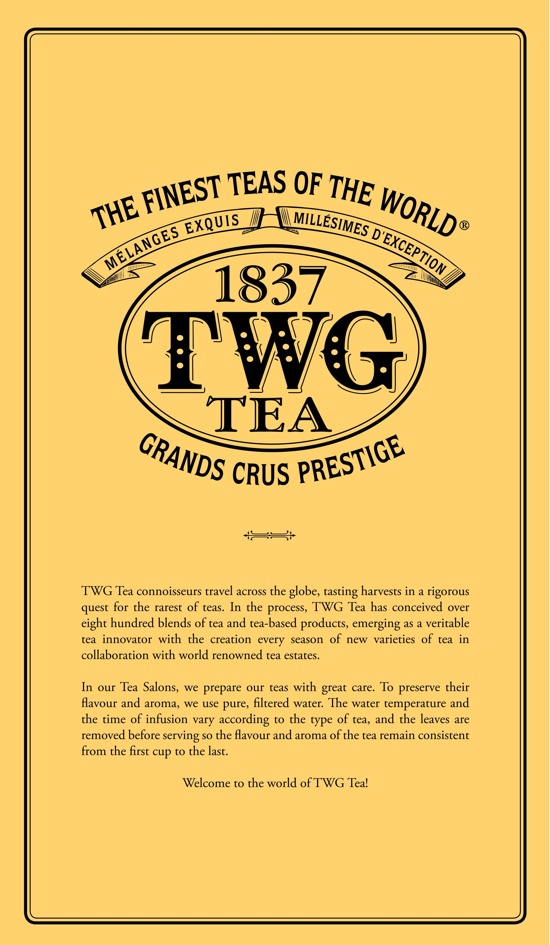 TWG Tea Salon and Boutique - Pacific Place | Dining - RegistryE com